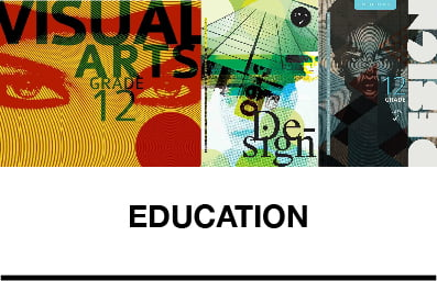 Books that are related to schools curriculum and that are focused on educating students on the arts or design