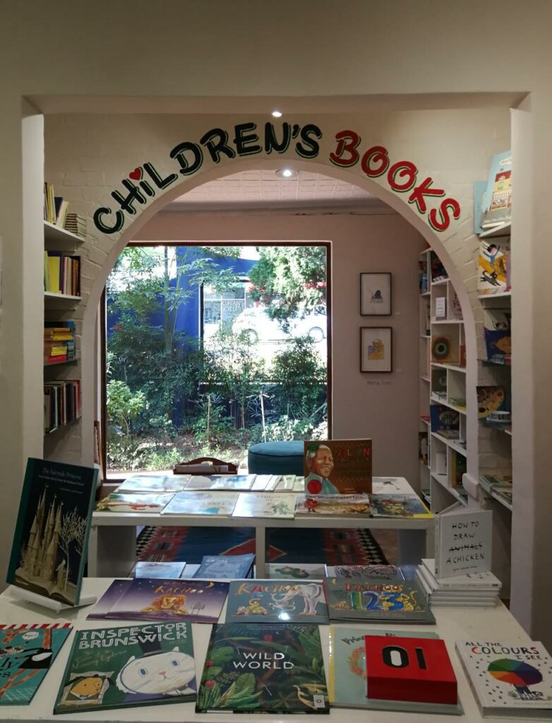 David Krut Bookstore's Children's Section carries a wide range of books in a variety of languages.